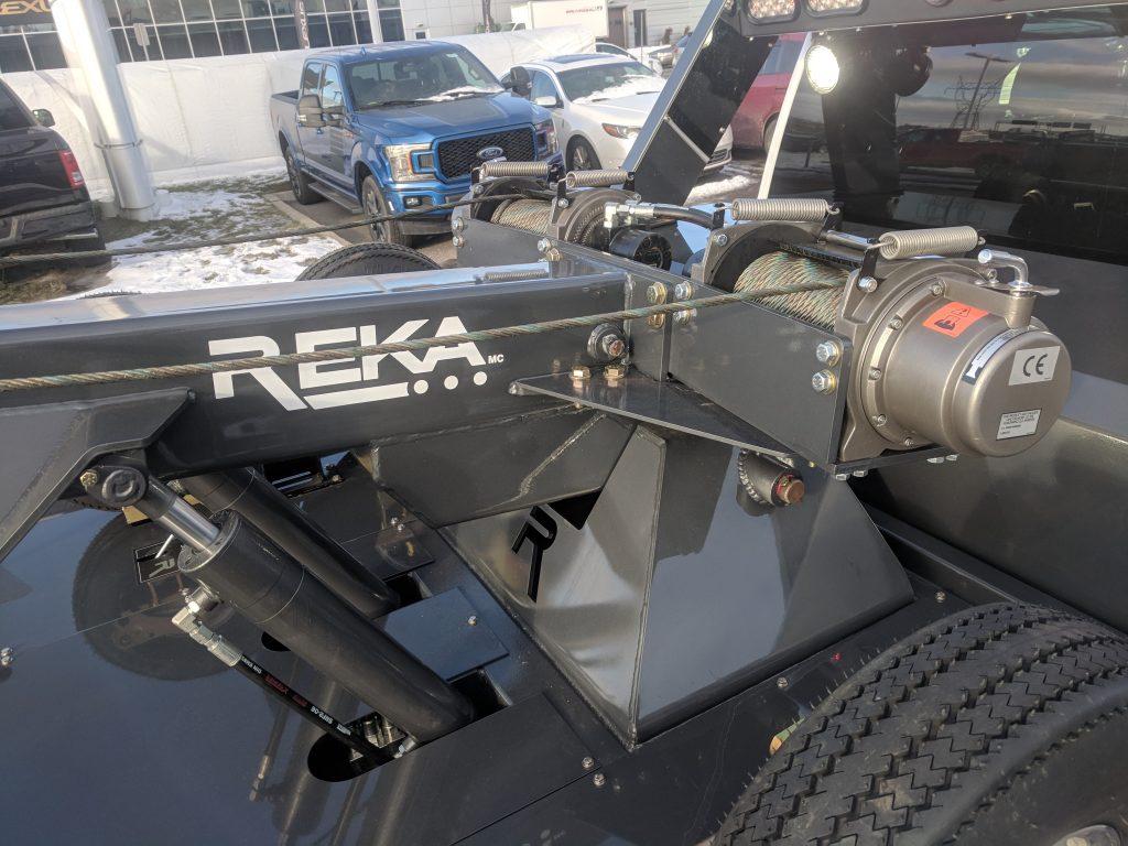 DEMO DEPANNEUSE REKA 250 HD SUR FORD F-550 2018