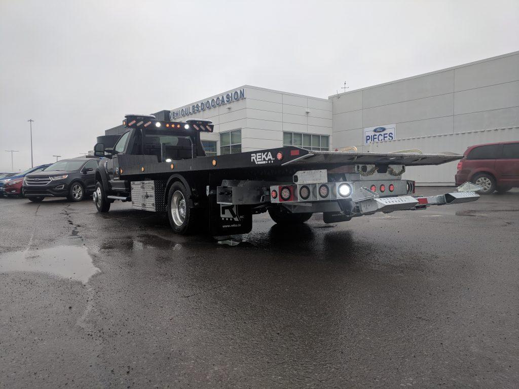 DEMO PLATE-FORME REKA 10AL19 HYBRID SUR FORD F-550 2018