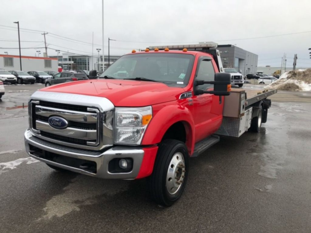 PLATE-FORME REKA 10AC19 SUR FORD F-550 2016